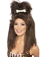 Crazy Cavewoman Wig,Brown