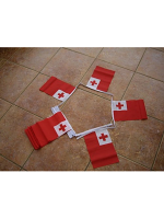 6m 20 flag Tonga bunting