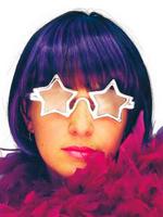 Star Superstar Silver Glasses