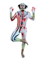 Jaw Dropper Clown Morphsuit