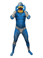 Orc Jaw Dropper Blue Morphsuit