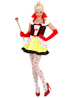 Queen Of Hearts (Dress W/Petticoat)