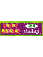 21 Today Banner Giant
