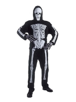 Skeleton Jumpsuit with Mask