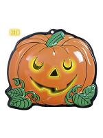 3D Neon Pumpkins 25Cm X 22Cm