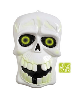 3D Glow In The Dark Skulls - 35Cm X 55Cm