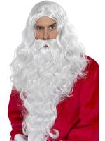 Santa Long Wig, White