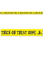 Trick Or Treat Zone Party Tape