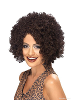 Scary Power Wig Brown