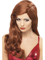 Silver Screen Sensation Wig - Auburn