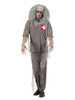 Zombie Doctor Scrubs Costume