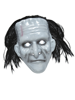 Pvc Monster Mask With Hair