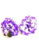 Hawaiian Flower Superior Bracelet/Anklet - Purple