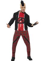 80's Anarchist Costume