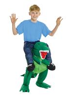 Kids Dino Piggyback Costum