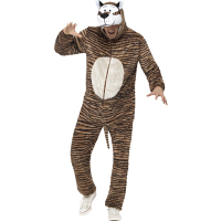 Tiger Costume, All-in-One Jumpsuit
