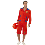 Baywatch Beach Men's Lifeguard Costume 12345