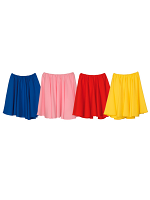 ROCK N ROLL SKIRT COLOURED - 4 COLOURS