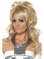 60'S Beauty Queen Wig,Blonde