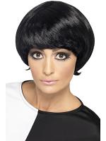 60'S Psychedelic Wig,Black