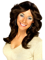 70'S Flick Wig  - Click for Colours