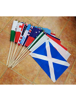 Rugby World Cup 2019 large hand flag pack (20 flags)