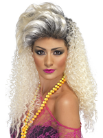 80'S Bottle Blonde Wig