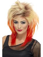 80'S Mullet Wig,Blonde