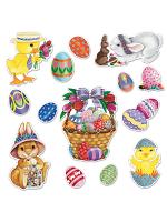 Easter Basket & Friends Cutouts