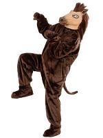 Plush Horse Costume (Costume Gloves Shoe Covers Mask)