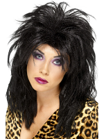80'S Popstar Wig,Black