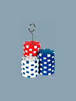 Balloon Weight/Photo Holder Poker Chips