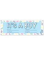 It's A Boy Sign Banner