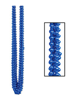 Metallic Blue Party Beads