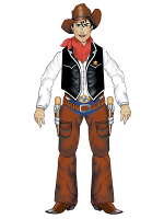 Cowboy Jointed  Cutouts