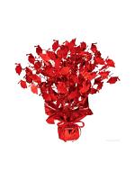 Graduate Cap Gleam 'N' Burst Centrepiece Red (Quantity 1)