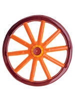 3D Caravan Wheel PVC 50cm