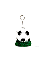 Balloon Weight /Photo Holder Soccer Ball