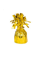 Balloon Weight Foil Wrapped Gold