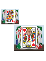 Royal Flush Photo Prop