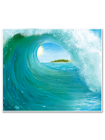 Surf Wave Insta-Mural
