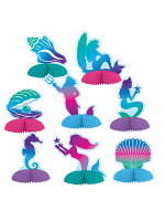 Mermaid Mini Centerpieces