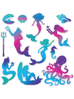 Mermaid Cutouts