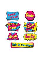 """90's Phrase Cutouts 8½""""-19½"""""""