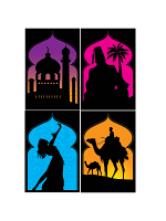 Arabian Nights Silhouettes