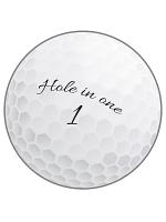 Golf Ball Cutout