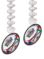 Rugby Ball Danglers