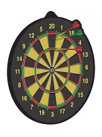 Dartboard Cutout