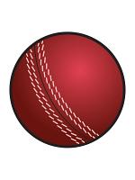 Cricket Ball Cutout