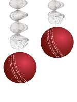 Cricket Ball Danglers
